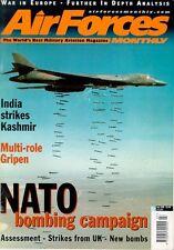 AIR FORCES MONTHLY 7/99 SWEDISH SAAB JAS39 GRIPEN / KOSOVO / JDAM / RAF FAIRFORD