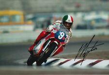 Giacomo Agostini Hand Signed 12x8 Photo MV Agusta, Yamaha 2.