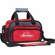 Berkley Small Tackle Bag Red Duffle Bag Tackle Storage Bag w/ 2 Tackle Trays