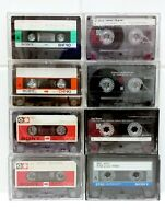 Mixed Lot Of Used Sony Cassette Tapes