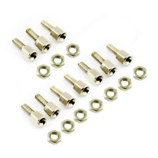 10Pairs Nuts and Screws 5MM+7MM for D-Sub DB9 DB15 DB25 Connector TP