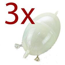 3 x Boule d'eau BULDO 80mm 35mm pose , flotteur de pêche ( 3xbuldo01 vert)
