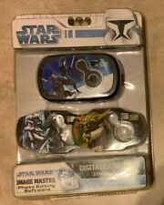 Star Wars Clone Wars Digital Camera Kit w/3 Face Plates NEW Factor Sealed Sakar