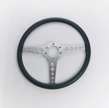 "Moto-Lita Jaguar XKE Type OEM Leather 15"" Steering Wheel"