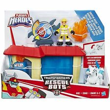Playskool Heroes Transformers Rescue Bots Griffin Rock Garage 3+ Toy Fun