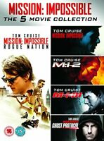 Mission Impossible 1-5 [DVD][Region 2]