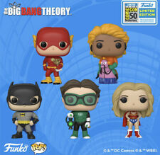 *CONFIRMED* 5 Piece Big Bang Theory Funko Pop Set SDCC 2019 DC Universe Shared