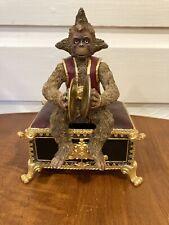 New ListingThe San Francisco Music Box Company Phantom of The Opera Musical Monkey Figurine