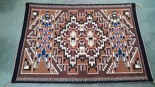 """navajo rug, Two Grey Hills, c. 1980""""s , 35' x 49"""""""