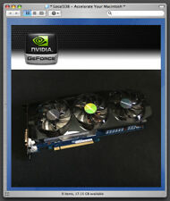 nVidia GTX 670 OC 2GB Video Card Apple Mac Pro 3,1-5,1 *CUDA Catalina *10.14 680