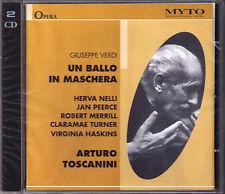Verdi Un ballo in maschera 1954 nelli Peerce Toscanini 2cd Turner Merrill Jan