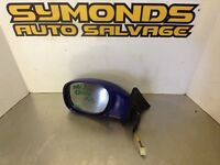 2001 TOYOTA CELICA N/S NEAR PASSENGER SIDE ELECTRIC WING MIRROR BLUE REF: M2