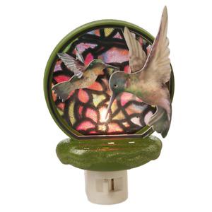 Hummingbirds Hummingbird Acrylic Night Light by Midwest Gift