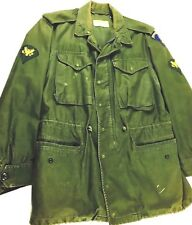 Vintage Military Jacket Army Jacket Military Jacket Patches Army Regular Small