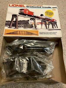 Lionel O Gauge Elevated Trestle Set Brand New in Box RARE HTF