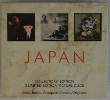 JAPAN: Collector's Edition 3 Limited Picture Discs CD Oil on Canvas, Tin Drum