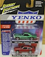 2018 JOHNNY LIGHTNING 2 Pack 1968 CHEVY CAMARO and 1972 CHEVY VEGA STINGER YENKO