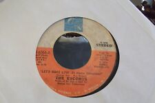 45Z RARE THE ESCORTS LETS MAKE LOVE/WITHIN WITHOUT ON ALITHIA RECORDS