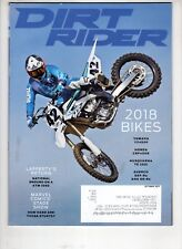 Dirt Rider Motocross Magazine Oct 2017 Yamaha Yz450F Husqvarna Te 250i Marvel