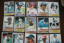 1979 O-Pee-Chee OPC baseball cards lot w/ STARS, partial set, 215 different