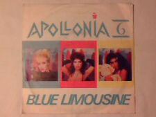 """APOLLONIA 6 Blue limousine 7"""" ITALY SHEILA E. PRINCE"""