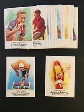 2009 Topps Allen & Ginter Other Sports Athletes Champions Lot 18 Cards With SP
