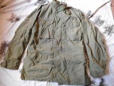 Original vintage us army usaf M65 m 65 field coat guerre du vietnam OG-107 m l