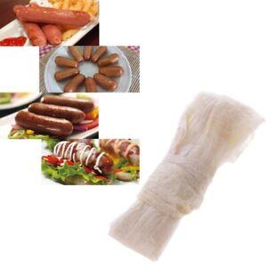 1PCS Dry Sheep Casing Natural Sheep Sausage Cover,Sausage Skin 2.6 M 28-30mm