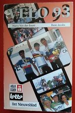 Cyclisme Annuaire VELO 1993 de rené jacobs harry van den bremt Cycling Ciclisimo