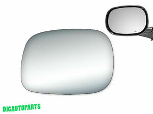 Replacement Mirror Glass for 2002-2008 Dodge Ram 1500 2500 VAN Driver Side LH