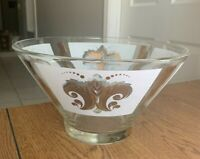 """Vintage Anchor Hocking Chip Bowl 6"""" Tall x 10.5"""" Diameter Beautiful Collectible"""