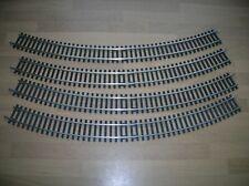 Bachmann R607 Double Curve 2nd Radius (45 deg) x4 (half circle) Mint Unboxed