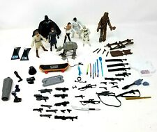 Star Wars Lot 8 figurines weapons stands clone wars toys action figurine toy