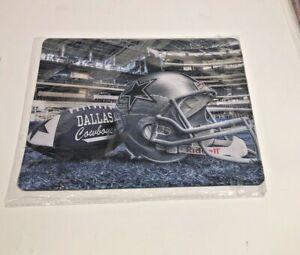 Dallas Cowboys Helmet/Football Gaming Mouse Pad