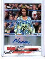WWE Naomi 2018 Topps Authentic Autograph Card SN 76 of 99