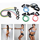 Resistance Set Yoga Pilates Abs Latex Exercise Home Fitness Tube Workout Band_