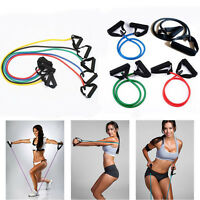 Resistance Loop Exercise Yoga Bands Rubber Fitness Training Workout Yoga Tube