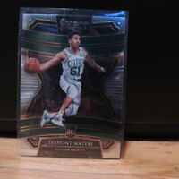 2019-20 Tremont Waters Rookie Card Panini Select RC Boston Celtics