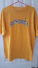 NWT Authentic Life Apparel  L Men's Org Embroid. Lettering South Dakota T-shirt