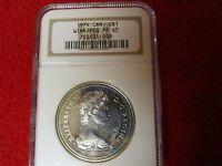 1974 Canada Silver $1 Winnipeg NGC PF65