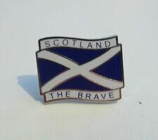 SCOTLAND BADGE SALTIRE SCOTLAND THE BRAVE
