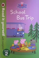 Peppa Pig, School Bus Trip,  Read It Yourself, Ladybird, BRAND NEW~H/C FREE POST