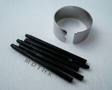 5X Black Standard Pen Nibs For Wacom Bamboo Graphire Intuos 3 & 4 Cintiq Tablet