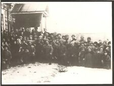 ++ Remarkable Press Photo Russia Red Army 1919 Rare See text on the back