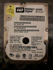 Disque dur Western Digital 80 Go IDE ATA 2.5 interne PC Portable
