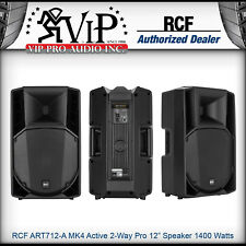 "RCF ART712-A MK4 Active 2Way Professional 12"" Powered PA Speaker 1400W Amplified"