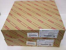 LEXUS OEM FACTORY FRONT BRAKE ROTOR SET 2003-2009 GX470 43512-60151 X2