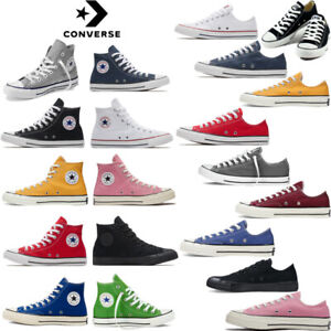 Converse Men's Women's Trainers Low Tops Chuck Taylor All Star Casual Shoes UK