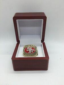 2012 San Francisco 49ers Colin Kaepernick NFC Championship Ring Set with Display