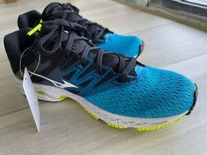 Mizuno Wave Shadow 2 Blue Gym Running Shoes Sneakers 8 Medium (D)